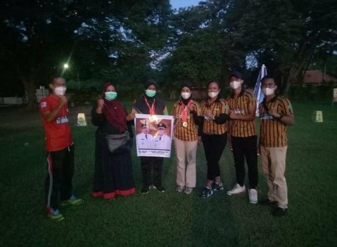 4 Atlet Panahan Dompu Ukir Prestasi di Sirnas 1 Panahan Denpasar, Bali 2021