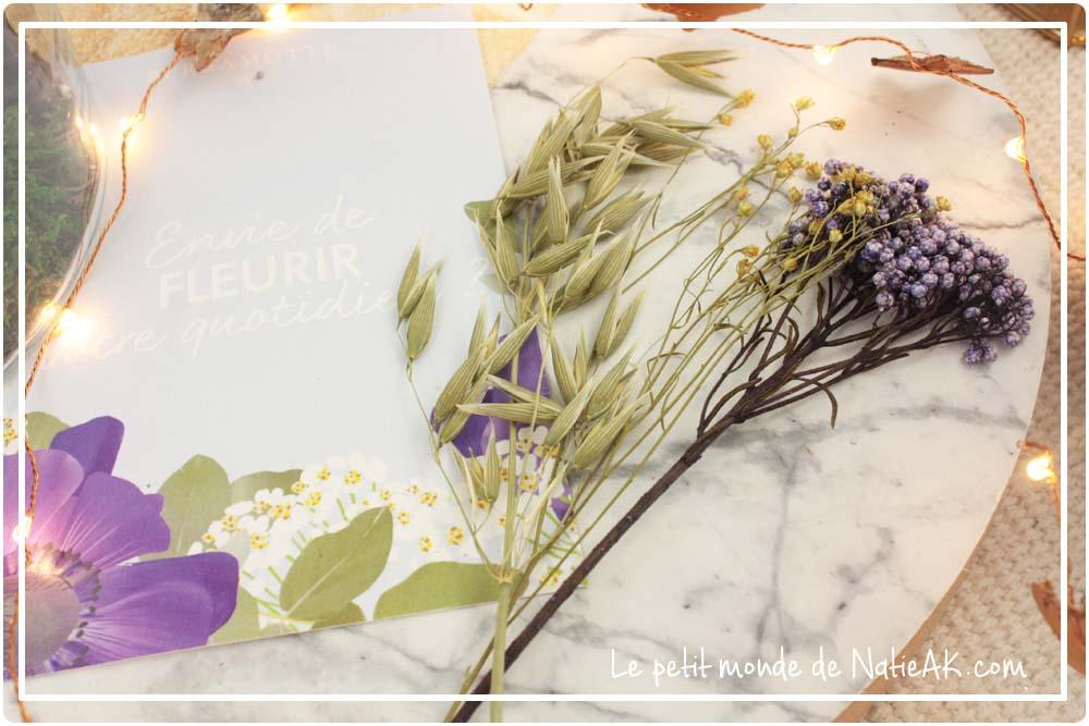 composition florale Bergomotte