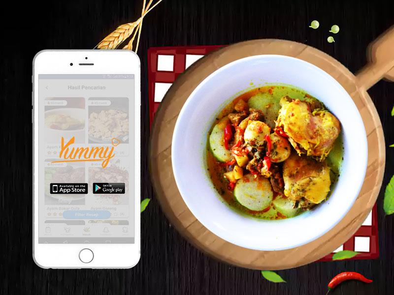 Kata Siswa Kuliner Tentang Yummy App – Aplikasi Resep Masakan Terbaik