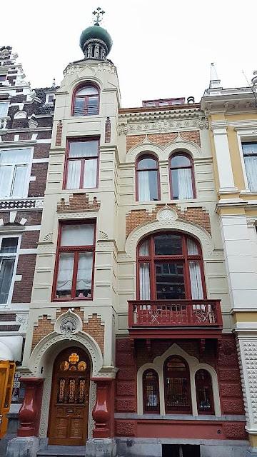Zevenlandenhuizen casa rusia calle Roemer Visscherstraat
