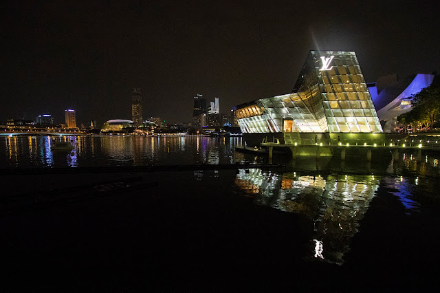 Lv-Marina bay Sands-Singapore