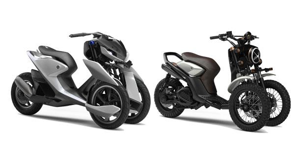 skuter roda tiga sang Yamaha 03GEN