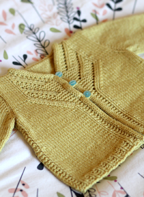 Islay Cardigan - Knitting Pattern