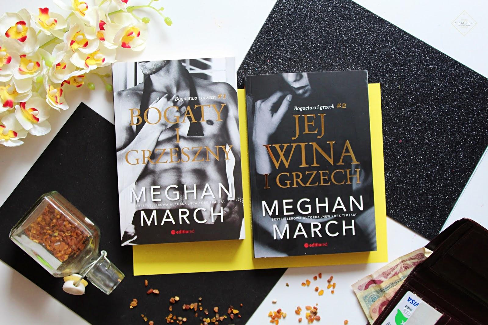 """Meghan March """"Jej wina i grzech"""" - recenzja książki"""