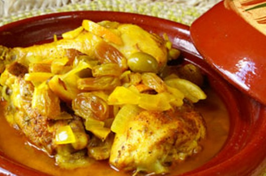 طريقة تحضير الطاجين المغربي باللحم والدجاج