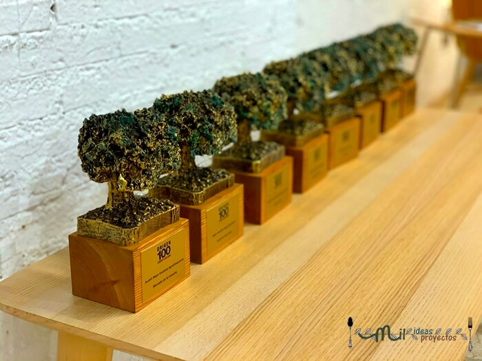 entrega de premios de la revista origen