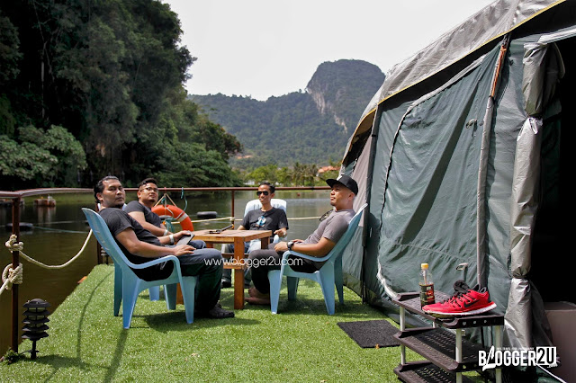 Floating Glamping Lost World of Tambun