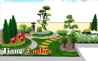 jasa desain taman tianggadha art