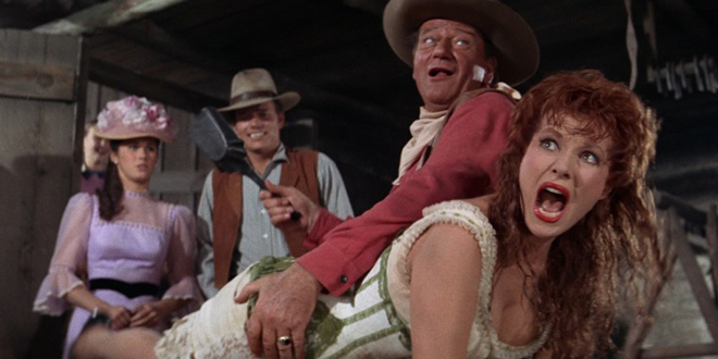Movie Review Mclintock 1963 The Ace Black Blog