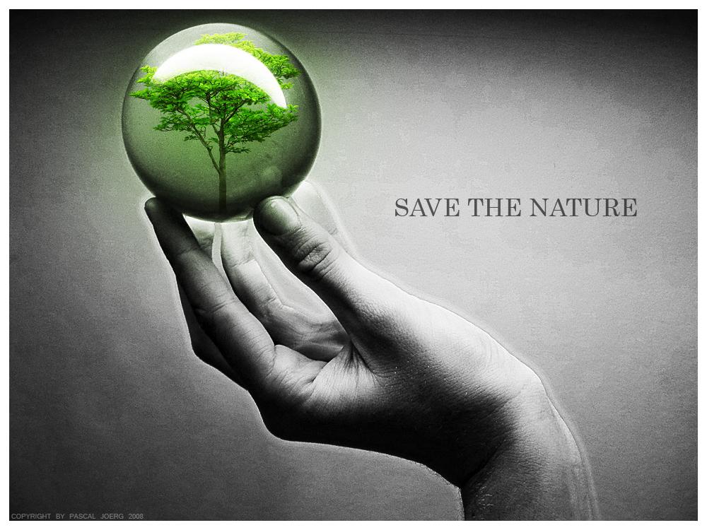 Save nature save environment