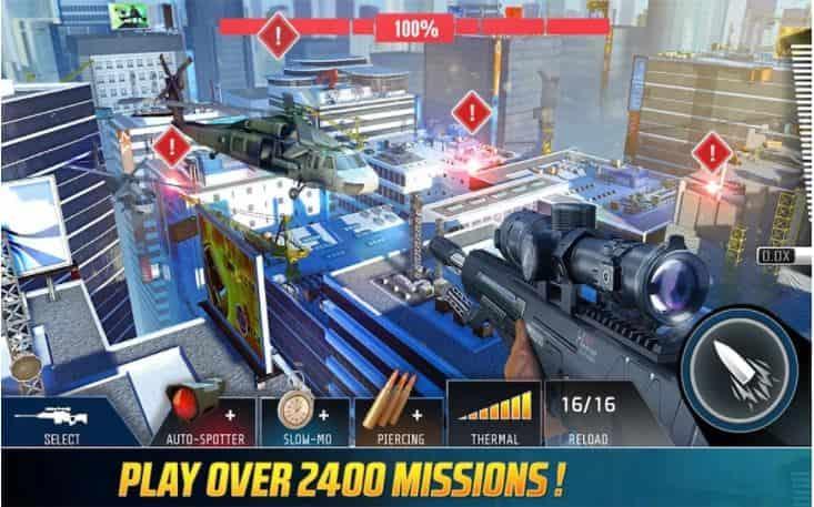 Kill Shot Bravo v9.3 MOD, Energy/Ammo - Game hành động cho điện thoại
