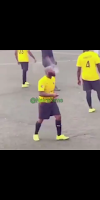 Which Kind Player Be This? Nigerians React After Davido Smoke On Football Pitch. VIDEO