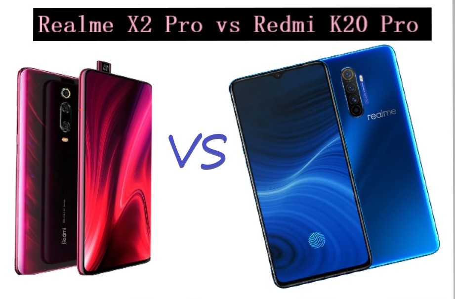 difference between realme x2 pro and redmi k20 pro