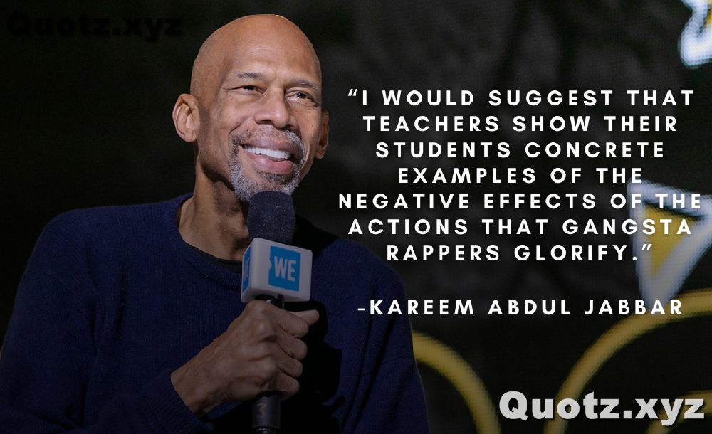 QUOTES by Kareem Abdul Jabbar for Inspiration, Motivation, Nba, Teamwork with quotes images.