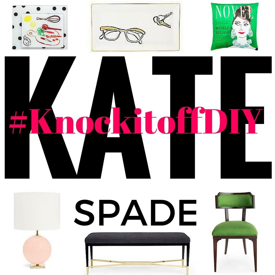 Kate Spade, Kate Spade knock off, Kate Spade Hack, Fairfax Rug, Fairfax Rug knockoff, Kate Spade Fairfax Rug Knockoff, Domicile 37, Kate Spade tutorial #knockitoffDIY, Knock it off DIY