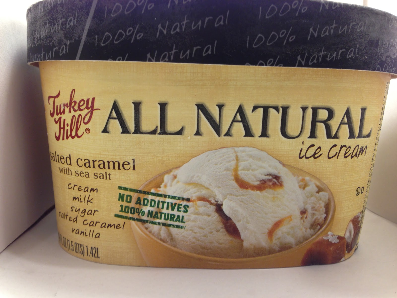 Review Turkey Hill All Natural Salted Caramel Ice Cream