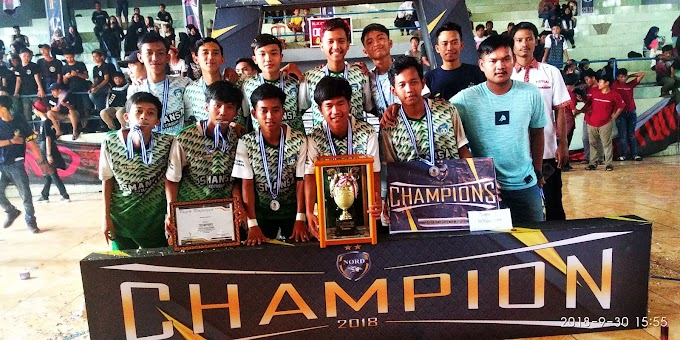 SMA N 01, Raih Juara 1 Dalam Turnamen Futsal Nord Futsal Campetition II 2018.