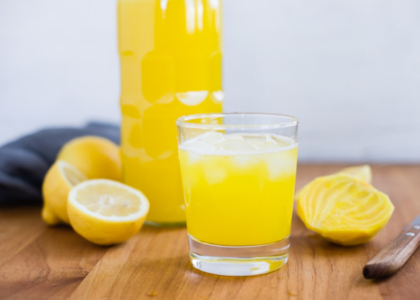Forget Golden Milk with these hot days - Welcome Golden Lemonade!