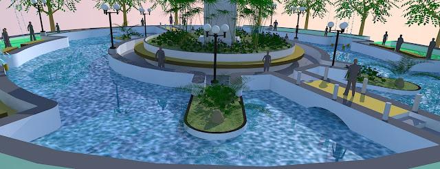 Desain kolam