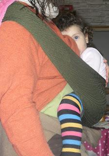 portage allaitement bambin wacotto maman bébé port'allaitement merya jambières
