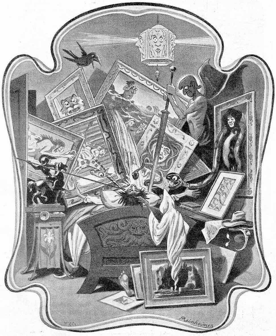 the critic's dream by Adolf Reinheimer