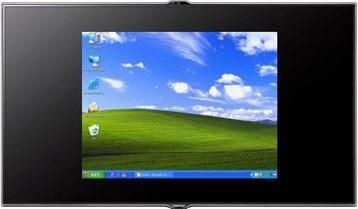 Gambar Background Windows pada HDTV