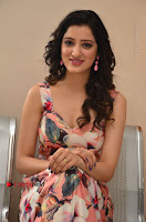 Actress Richa Panai Pos in Sleeveless Floral Long Dress at Rakshaka Batudu Movie Pre Release Function  0119.JPG