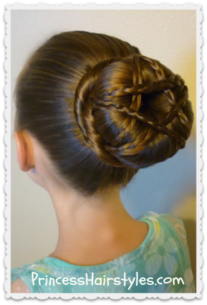 Star Updo Tutorial