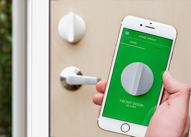 Clever Gadgets To Make Your Smartphone Even Smarter - Friday Smart Lock