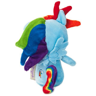 itty bittys Rainbow Dash my little pony stuffed Hallmark toy