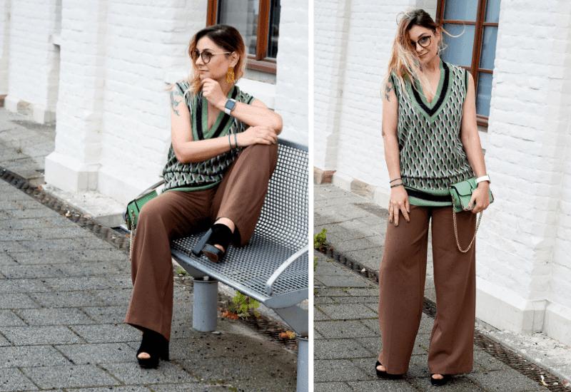 Braun-kombinieren-Outfit-Sandalen