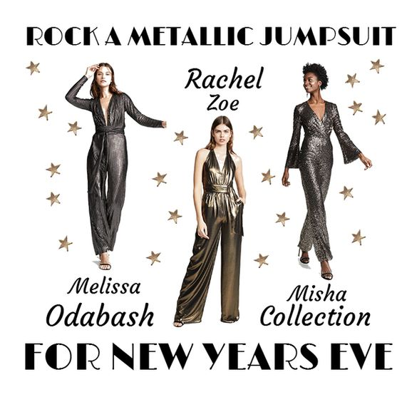 Rock A Metallic Jumpsuit For New Year's Eve www.toyastales.blogspot.com #ToyasTales #metallicjimpsuit #NewYearsEve #holidayparty #NewYearsEveParty #TimesSquare #CountdownToNewYearsEve