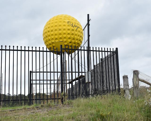 The BIG Golf Ball in Anna Bay