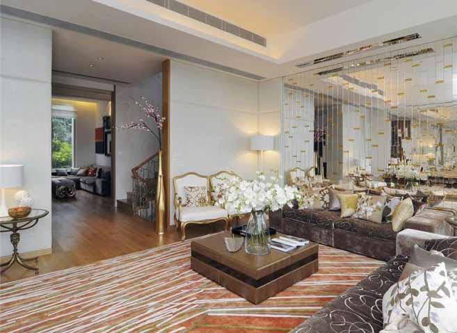 Foto Desain Interior Ruang Tamu Yang Mewah | Minimalist-id.com