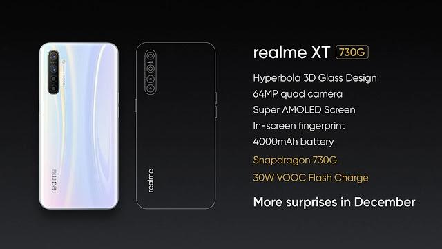 Realme XT 730G announced by Madhav Sheth