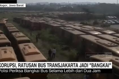 Aroma 'Busuk' di Kuburan Massal Bus TransJakarta Era Jokowi-Ahok, MAKI Laporkan ke KPK