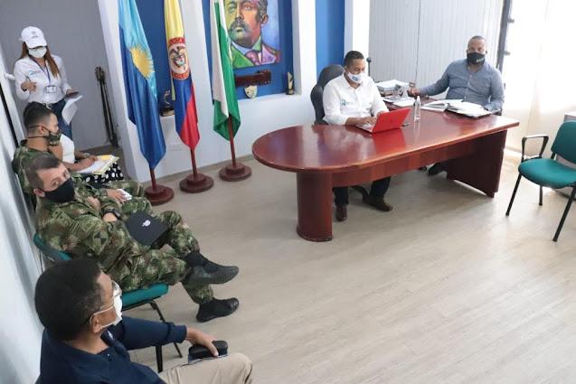 hoyennoticia.com, Medidas para mejorar la seguridad adoptó alcalde de Riohacha