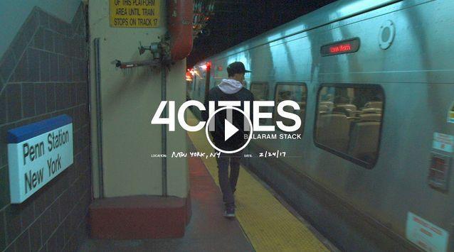 Balaram Stack in NYC - 4 Cities Ep 4 What Youth x Volcom