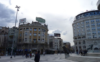 Plaza Macedonia o Makedonian Square.