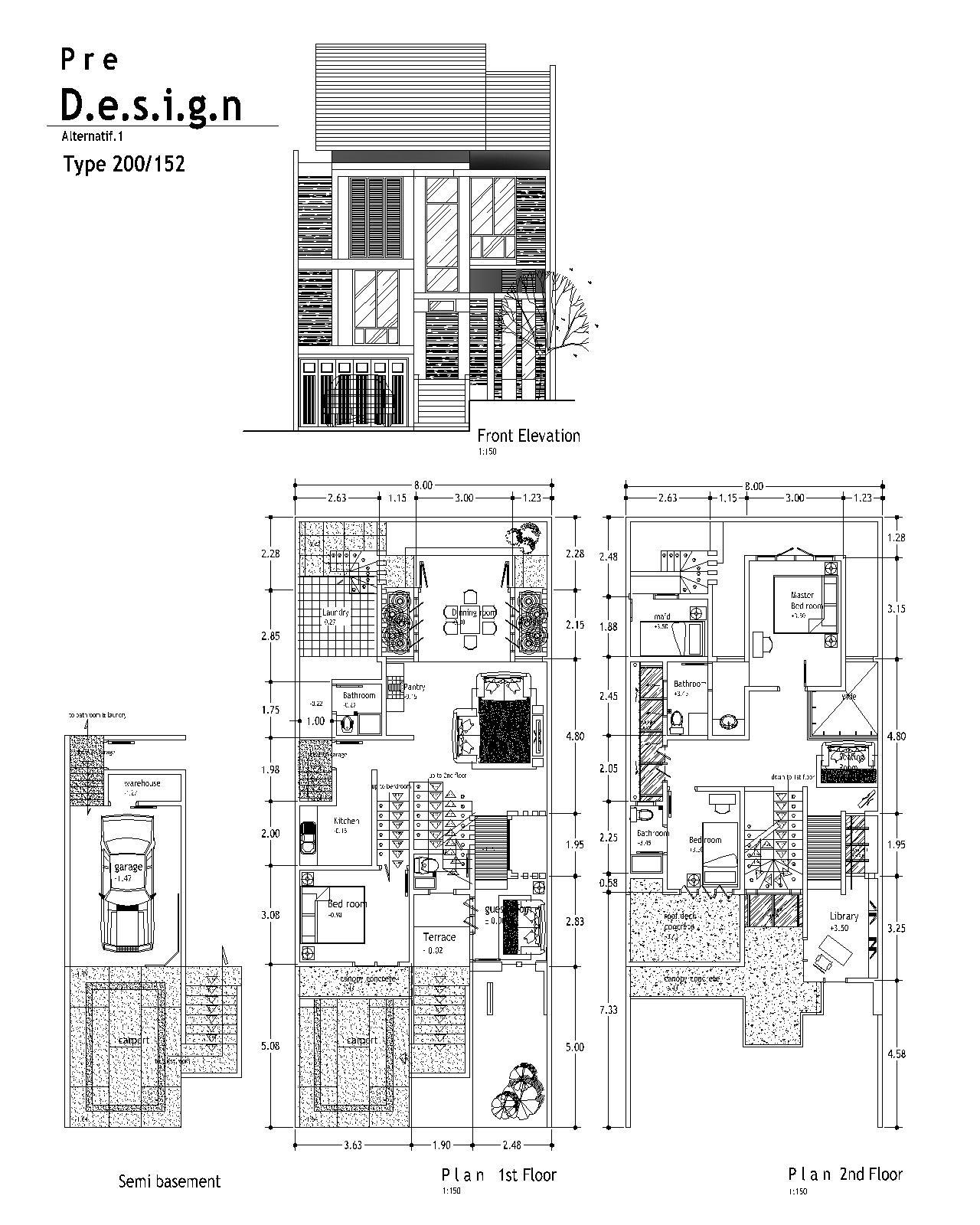 Image Result For Denah Renovasi Rumah