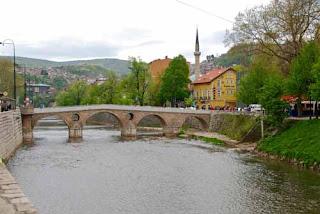 Latinsak Cuprija Latin Bridge Sarajevo Bosnia