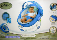 Baby Bouncer Pliko PK60681 Comfort and Classic Collection