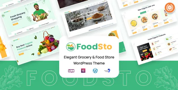 Best Grocery and Food Store WordPress Theme