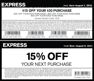 free Express coupons march 2017