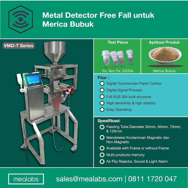 metal detector merica bubuk