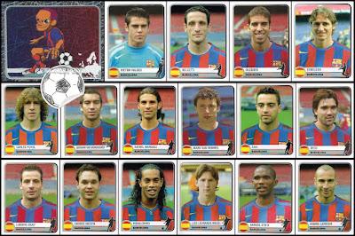 Champions League Panini Champions of Europe 1955-2005 barcelona