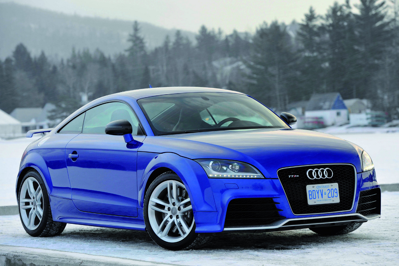 2012 Audi TT RS For United States Car Audio System And Modifications