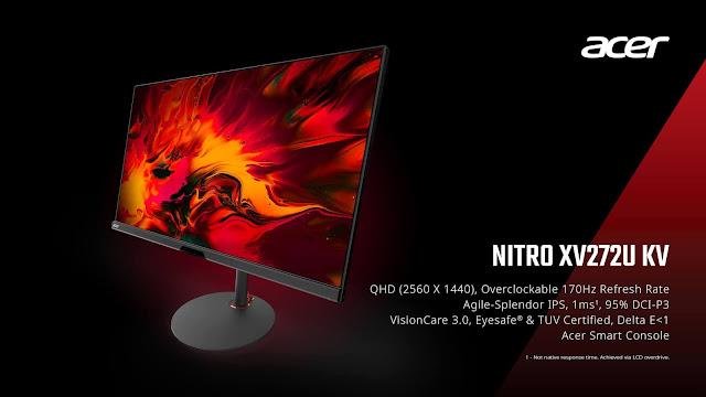 Acer Nitro XV272U KV Gizmo Manila