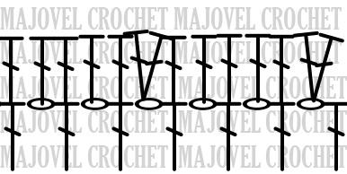 Crochet PATRÓN Pelele rosa para todo el año. MAJOVEL CROCHET vuelta 3 y 4