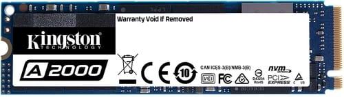 Review Kingston 250GB A2000 M.2 2280 Nvme Internal SSD